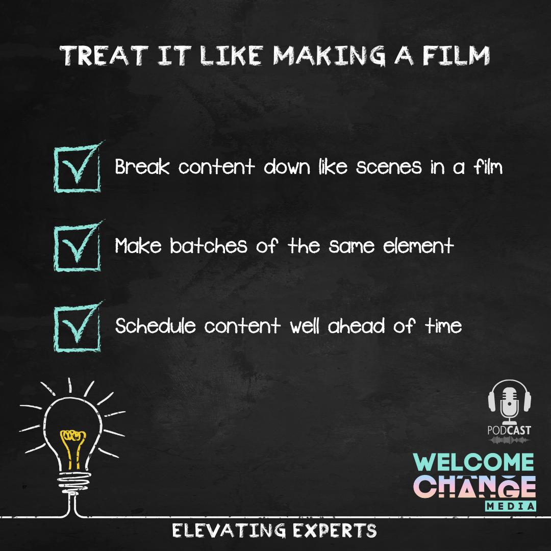 """EE2.03 Chalkboard """"treat it like a film"""""""