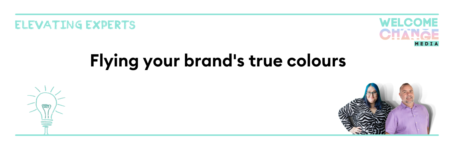 """EE2.06 Article Banner """"flying your brand's true colours"""""""