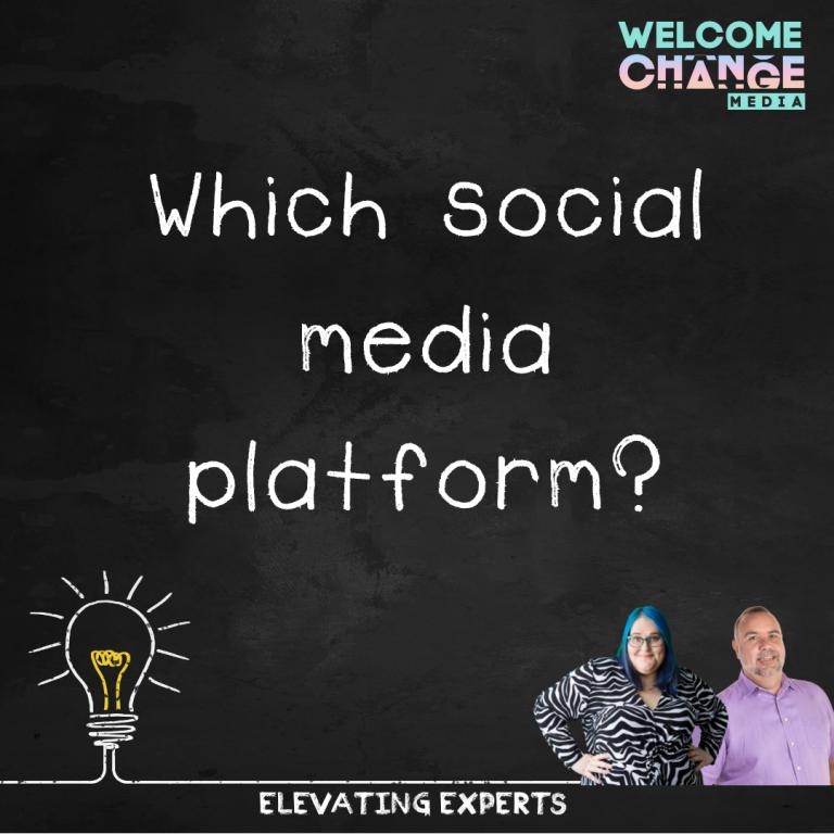Which social media platform?